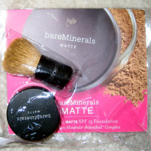 Free sample of bare escentuals bare minerals.