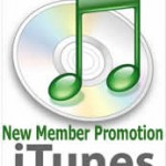 Picture of my itunes new member promotion