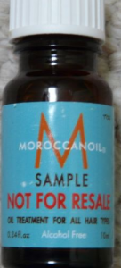 Picture of my MOROCCANOIL OIL TREATMENT ALL HAIR TYPES point34oz Deluxe Free Sample 136x300
