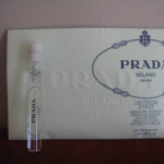 Picture of my PRADA MILANO Free Sample 1point5 ML 150x150