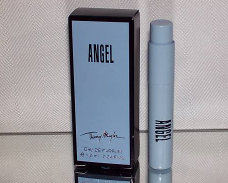 Picture of my Thierry Mugler Angel Perfume Free Sample