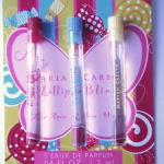 Picture of my MARIAH CAREY Lollipop Bling PERFUME 3 MINE AGAIN RIBBON HONEY each point04oz Free Sample 150x150