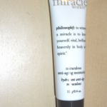 Picture of my Philosophy Miracle Worker Anti-Aging Moisturizer Free Sample