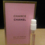 Picture of my Chanel Chance Eau De Parfum Free Sample