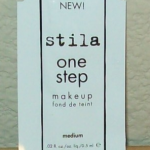 Picture of my Stila One Step Makeup Medium Packet Free Sample