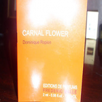 Picture of my Frederic Malle Dominique Ropion Carnal Flower Perfume Free Sample 150x150
