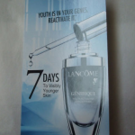 Picture of my Lancome Genifique Youth Activating Concentrate Serum 7 Day Trial Free Sample