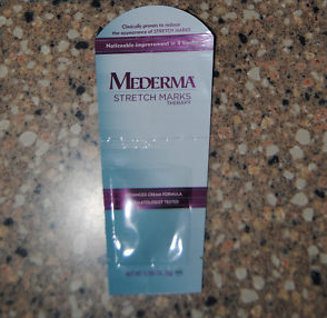 Picture of my Mederma Stretch Mark Therapy Cream Free Sample