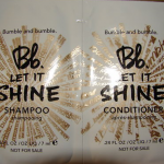 Picture of my Bumble Bumble Bb Let It Shine Shampoo Conditioner Free Sample 150x150