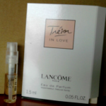 Picture of my Lancome Tresor In Love Free Sample 150x150