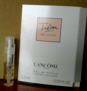 Picture of my Lancome Tresor In Love Fre