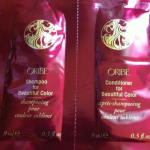 Picture of my Oribe Shampoo & Conditioner Beautiful Color Free Sample