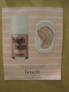 Picture of my Benefit High Beam Free Sample 226x300