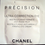 Picture of my Chanel Precision Ultra Correction Eye Cream Free Sample