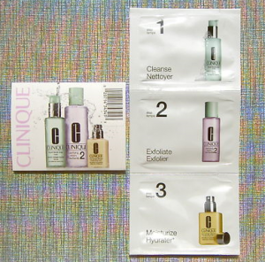 Clinique 3 Step Skin Care System Free Sample