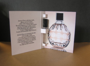 free perfume samples by mail