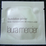 Picture of my Laura Mercier Foundation Primer Free Sample