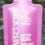 Picture of my Nick Chavez Angel Wings Styling Paste Free Sample