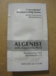Picture of my Algenist Concentrated Reconstructing Serum Free Sample 224x300