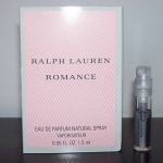 Picture of my Ralph Lauren Romance Perfume Free Sample 150x150