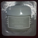 Picture of my Sisley Neck Cream With Botanical Extracts Free Sample
