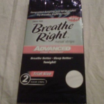 Picture of my Breathe Right Advanced Nasal Strips Free Sample