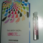 Picture of my Body Shop Love Etc Free Sample