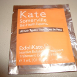 Picture of my Kate Somerville Exfolikate Exfoliating Treatment Free Sample