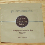 Picture of my Purminerals Colour Correcting Primer Free Sample