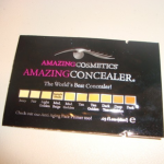 Picture of my Amazing Cosmetics Amazing Concealer Free Sample