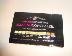 Picture of my Amazing Cosmetics Amazing Concealer Free Sample 300x232