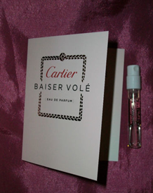 Picture of my Cartier Baiser Vole Free Sample