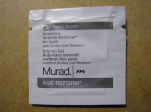 Picture of my Murad Intensive Wrinkle Reducer for Eyes free samples free sample
