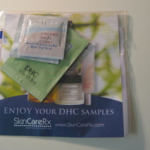Picture of my DHC Skin Care Products Free Sample