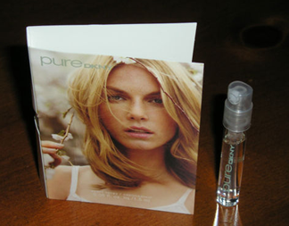 Picture of my DKNY Donna Karan Pure Verbena Free Sample
