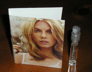 Picture of  my DKNY Donna Karan Pure Verbena Free Sample