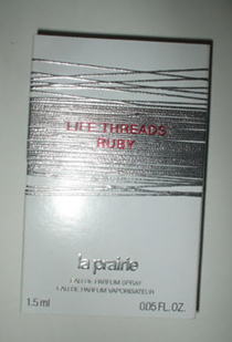 Picture of my La Prairie Life Threads Ruby Free Sample