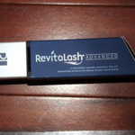 Picture of my Revitalash Advanced Eyelash Conditioner Free Sample