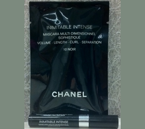 Picture of my Chanel Inimitable Intense Mascara Free Sample