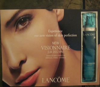 Picture of my Lancome Visionnaire LR 2412 4 Free Sample