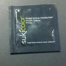 Picture of my Suki Color Tinted Active Moisturizer Free Sample