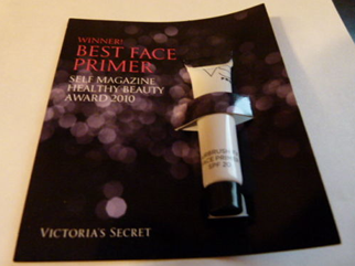Picture of my Victorias Secret Pro Airbrush FX Face Primer Free Sample