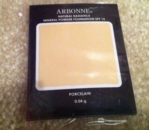 Arbonne Mineral Powder Foundation Free Sample