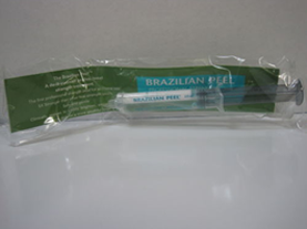 Picture of my Brazilian Peel Facial Treatment Free Sample Size