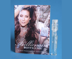 Picture of my Kate Walsh Billionaire Boyfriend Perfume Free Sample