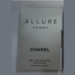 Picture of my Chanel Allure Homme EDT Free Sample