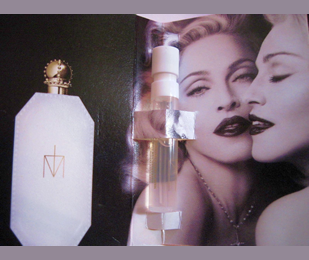 Picture of my Madonna Truth or Dare Perfume Free Sample