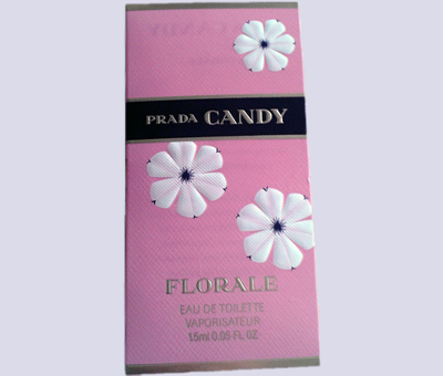Picture of my Prada Candy Florale EDT Free Sample