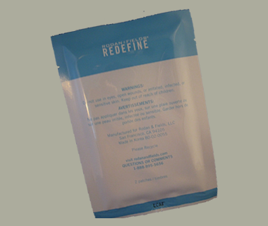 Free Sample of Rodan and Fields Redefine Acute Care