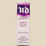 Picture of my Urban Decay All Nighter Makeup Setting Spray Free Sample